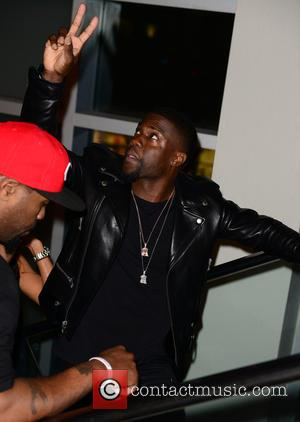 Kevin Hart - 'The Wedding Ringer' screening at Regal South Beach at Regal South Beach - Miami Beach, Florida, United...