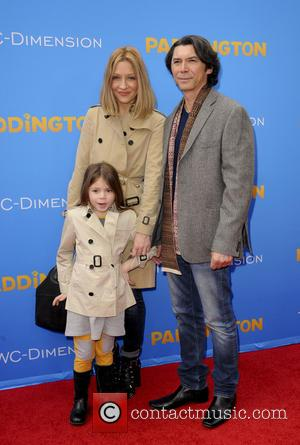 Lou Diamond Phillips and family - Shots of a variety of stars including Paddington bear himself at the Los Angeles...
