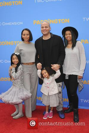 Melanie Brown and Family