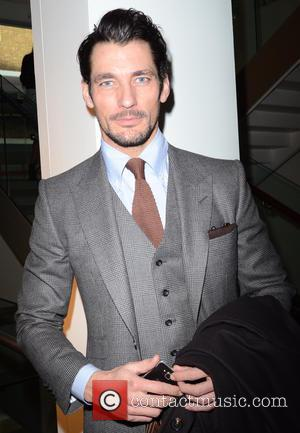 David Gandy - London Collections: Men - Ada + Nik Autumn/Winter Show at ME Hotel - London, United Kingdom -...