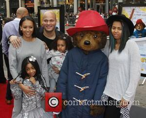 Mel B, producer Stephen Belafonte and children