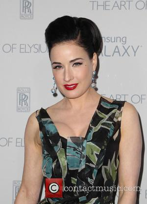 Dita Von Teese - A variety of stars were snapped as they arrived for the Art of Elysium's 8th Annual...