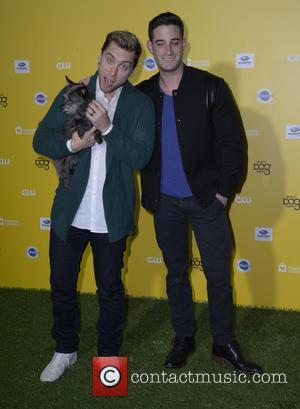 Lance Bass and Michael Turchin - George Lopez hosts The World Dog Awards 2015 at Barker Hangar in Santa Monica...