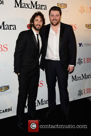 Josh Groban and Chris Young - 2015 YoungArts Backyard Ball held at YoungArts Campus - Arrivals at YoungArts Campus -...
