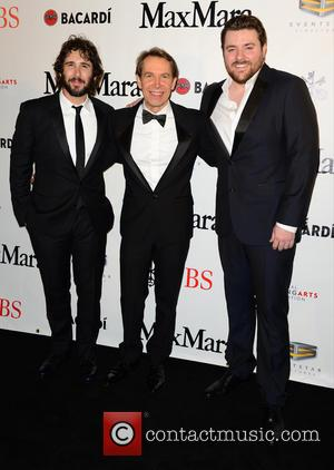 Josh Groban, Jeff Koons and Chris Young - 2015 YoungArts Backyard Ball held at YoungArts Campus - Arrivals at YoungArts...