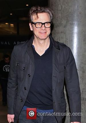 British film actor Colin Firth who has starred in a variety of films including 'The King's Speech' for which he...
