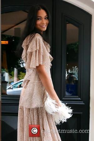 Chanel Iman - Celebrities leave A.O.C. restaurant after attending an event for women of W magazine at West Hollywood -...