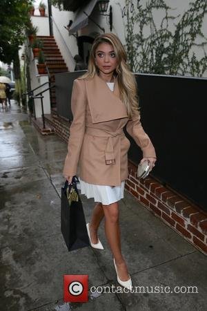 Sarah Hyland - Celebrities leave A.O.C. restaurant after attending an event for women of W magazine at West Hollywood -...