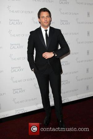 James Marsden - A variety of stars were snapped as they arrived for the Art of Elysium's 8th Annual Heaven...