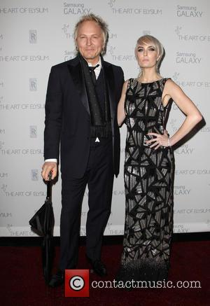 Matt Sorum and Adriane Harper - A variety of stars were snapped as they arrived for the Art of Elysium's...
