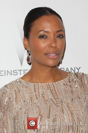 Aisha Tyler - 2015 Weinstein Company and Netflix Golden Globes After Party at The Beverly Hilton Hotel at Robinsons May...