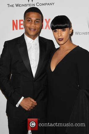 Cory Hardrict and Tia Mowry - 2015 Weinstein Company and Netflix Golden Globes After Party at The Beverly Hilton Hotel...