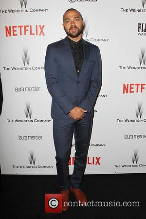 Jesse Williams - 2015 Weinstein Company and Netflix Golden Globes After Party at The Beverly Hilton Hotel at Robinsons May...
