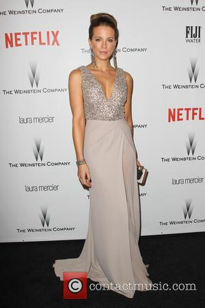 Kate Beckinsale - Shots from the 2015 Weinstein Company and Netflix Golden Globes After Party as a host of stars...