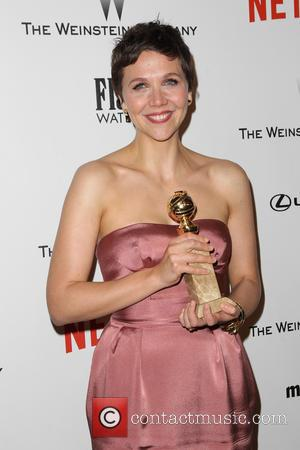 Maggie Gyllenhaal - Shots from the 2015 Weinstein Company and Netflix Golden Globes After Party as a host of stars...