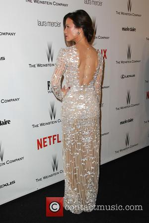 Rhona Mitra - 2015 Weinstein Company and Netflix Golden Globes After Party at The Beverly Hilton Hotel at Robinsons May...