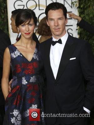 Benedict Cumberbatch and Sophie Hunter - A host of stars were photographed as they took to the red carpet at...