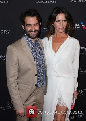 Jay Duplass and Amy Landecker - A host of stars were snapped as they attended the British Academy of Film...