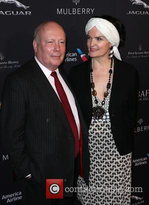 Julian Fellowes and Emma Fellowes - A host of stars were snapped as they attended the British Academy of Film...