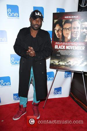 Jimmy Jean-Louis - Premiere of 'Black November' at Arena Cinema Hollywood - Arrivals - Los Angeles, California, United States -...