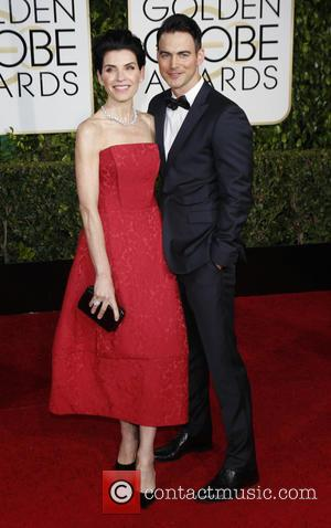Julianna Margulies and Keith Lieberthal - 72nd Annual Golden Globe Awards at The Beverly Hilton Hotel - Arrivals at Golden...
