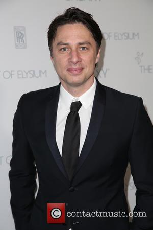 Zach Braff - A variety of stars were snapped as they arrived for the Art of Elysium's 8th Annual Heaven...