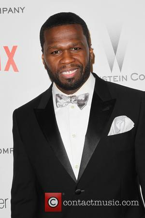 50 Cent and Curtis Jackson - Shots from the 2015 Weinstein Company and Netflix Golden Globes After Party as a...