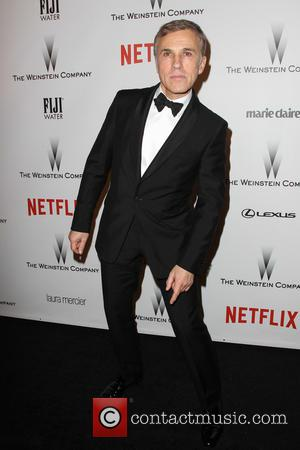 Christoph Waltz - Shots from the 2015 Weinstein Company and Netflix Golden Globes After Party as a host of stars...