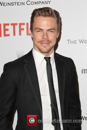 Derek Hough - Shots from the 2015 Weinstein Company and Netflix Golden Globes After Party as a host of stars...