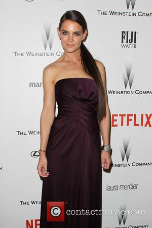 Katie Holmes - Shots from the 2015 Weinstein Company and Netflix Golden Globes After Party as a host of stars...