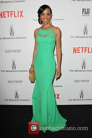 Shaun Robinson - Shots from the 2015 Weinstein Company and Netflix Golden Globes After Party as a host of stars...