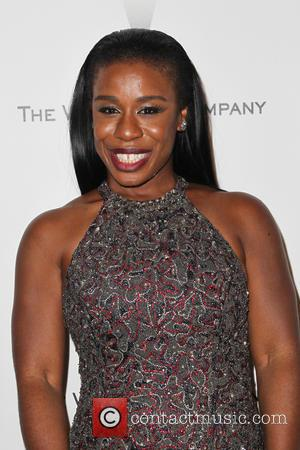Uzo Aduba - Shots from the 2015 Weinstein Company and Netflix Golden Globes After Party as a host of stars...