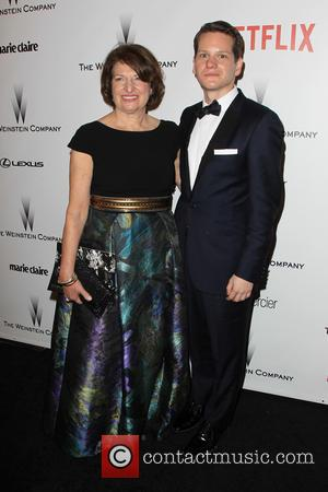 Susan Sher and Graham Moore - 2015 Weinstein Company and Netflix Golden Globes After Party at The Beverly Hilton Hotel...