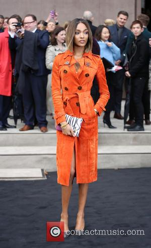 Jourdan Dunn - A variety of fashionable stars were snapped as they attended the Burberry Prorsum fashion show, London Collections:...