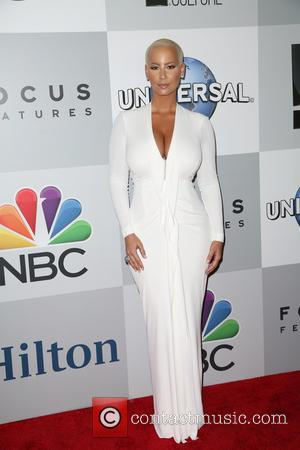 Amber Rose - A host of stars were snapped as they arrived for NBC/Universal's 72nd Annual Golden Globes after party....