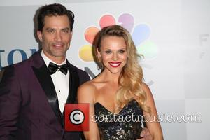 Johnathon Schaech and Julie Solomon - A host of stars were snapped as they arrived for NBC/Universal's 72nd Annual Golden...