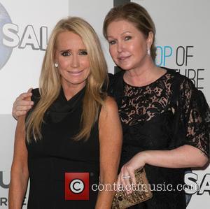 Kim Richards and Kathy Hilton
