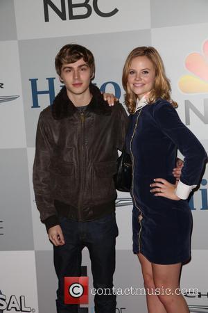 Miles Heizer and Sarah Ramos