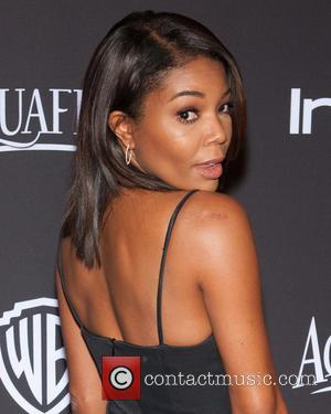 Gabrielle Union - 16th Annual InStyle and Warner Bros. Golden Globe After Party - Arrivals at Beverly Hilton Hotel, Golden...