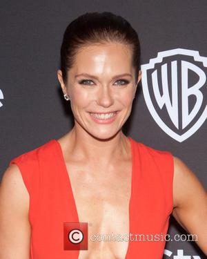 Katie Aselton - 16th Annual InStyle and Warner Bros. Golden Globe After Party - Arrivals at Beverly Hilton Hotel, Golden...