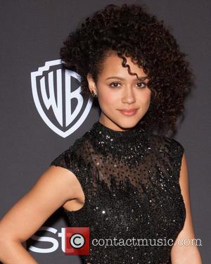 Nathalie Emmanuel - 16th Annual InStyle and Warner Bros. Golden Globe After Party - Arrivals at Beverly Hilton Hotel, Golden...