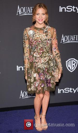 Brittany Snow - 16th Annual InStyle and Warner Bros. Golden Globe afterparty - Arrivals at Beverly Hilton Hotel, Golden Globe...