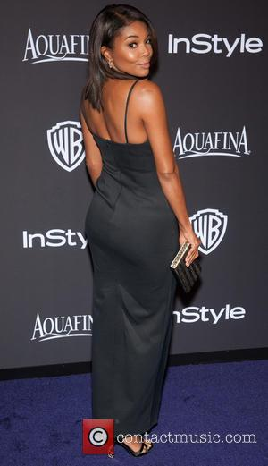 Gabrielle Union - 16th Annual InStyle and Warner Bros. Golden Globe afterparty - Arrivals at Beverly Hilton Hotel, Golden Globe...