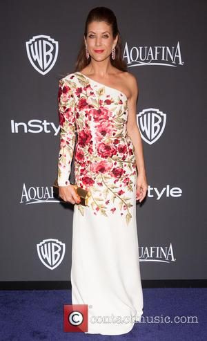 Kate Walsh - 16th Annual InStyle and Warner Bros. Golden Globe afterparty - Arrivals at Beverly Hilton Hotel, Golden Globe...