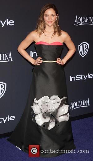 Katharine McPhee - 16th Annual InStyle and Warner Bros. Golden Globe afterparty - Arrivals at Beverly Hilton Hotel, Golden Globe...