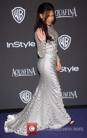 Naya Rivera - 16th Annual InStyle and Warner Bros. Golden Globe afterparty - Arrivals at Beverly Hilton Hotel, Golden Globe...