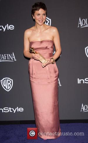 Maggie Gyllenhaal - 16th Annual InStyle and Warner Bros. Golden Globe afterparty - Arrivals at Beverly Hilton Hotel, Golden Globe...