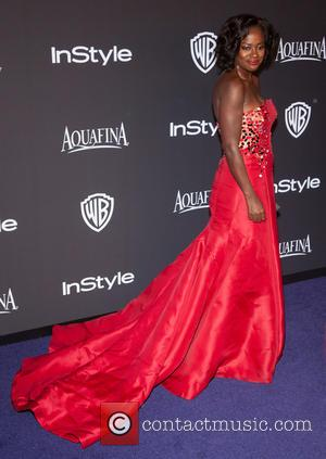 Viola Davis - 16th Annual InStyle and Warner Bros. Golden Globe afterparty - Arrivals at Beverly Hilton Hotel, Golden Globe...