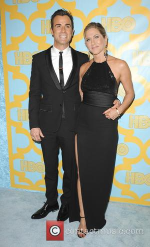 Justin Theroux and Jennifer Aniston - A variety of stars were snapped as they attended HBO's Post Golden Globe Party...