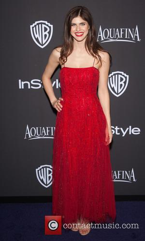 Alexandra Daddario - 16th Annual InStyle and Warner Bros. Golden Globe afterparty - Arrivals at Beverly Hills, Golden Globe -...